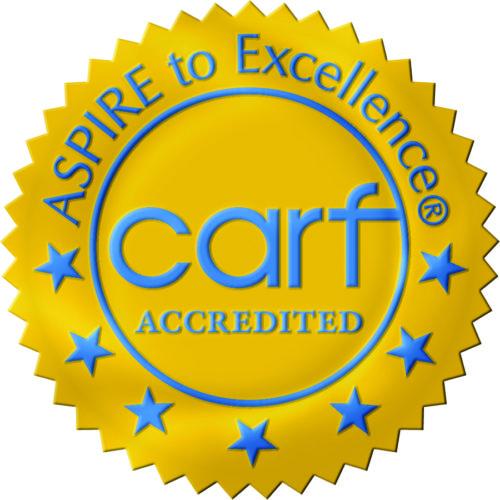 CARF CCAC logo