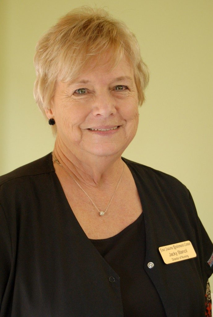 Jackie Stancil, R.N. Director of Nursing