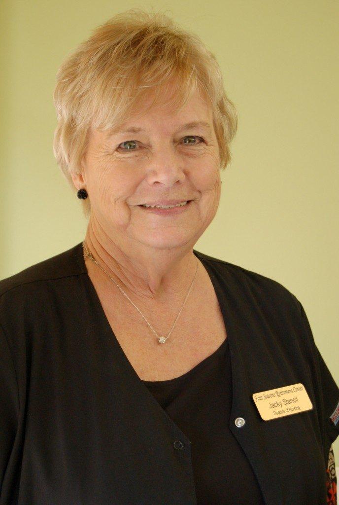 Jackie Stancil, R.N. Director of Nursing
