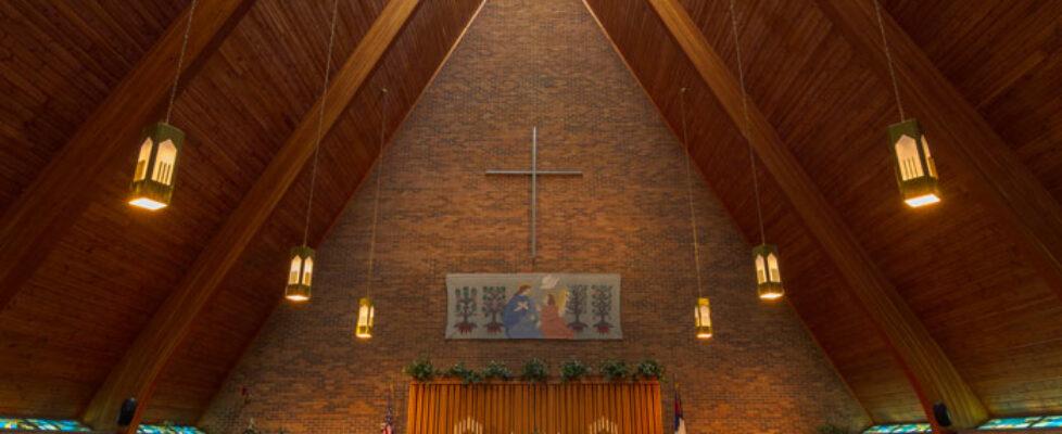 Indoor view of chapel