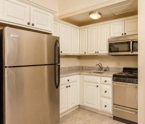 Kitchen at Four Seasons apartment