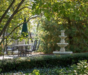 Fountain at Four Seasons