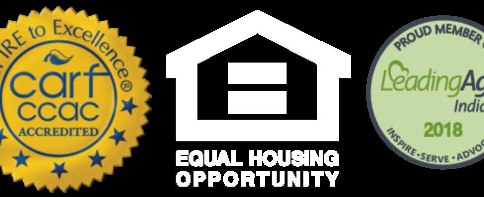 carf Equal Housing logos