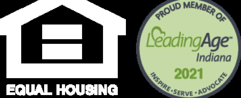 EHO Leading Age logos