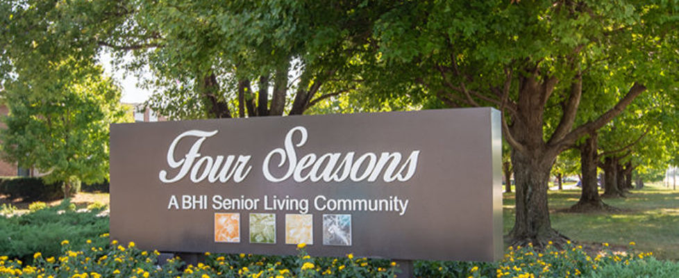Four Seasons Street Sign