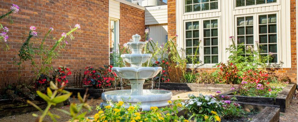 Relaxing Garden Fountain
